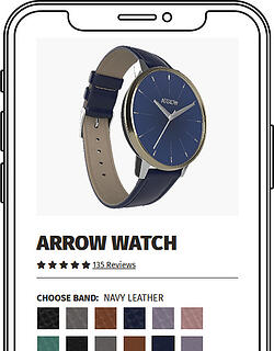 Arrow Watch - mobile preview