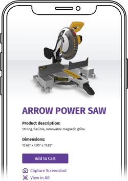 Mobile preview of ATLATL's Arrow Power Saw demo